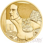 Austria JUDITH II by GUSTAV KLIMT series KLIMT AND HIS WOMEN Gold coin €50 Euro Proof 2014